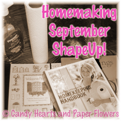 Homemaking September ShapeUp!