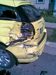 my destroyed car