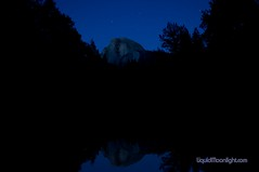 Half Dome under the Stars - Yosemite California (Darvin Atkeson) Tags: california park wallpaper usa night america forest river stars landscape us nationalpark high long exposure nevada parks merced sierra national yosemite dome half resolution nationalparks darvin   atkeson californiaphotography  darv californiaphotographer   liquidmoonlightcom liquidmoonlight liquiidmoonlightcom