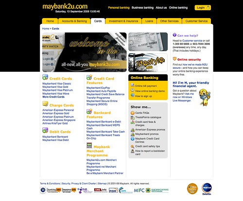 maybank2u 2.0 services