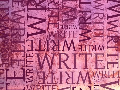 Write write write write