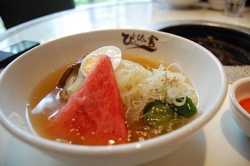 冷麺 at ぴょんぴょん舎 / Sep 13, 2008