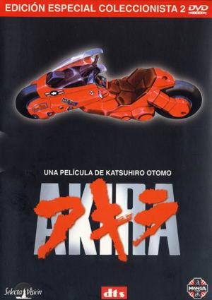 Akira - Caratula DVD