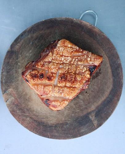 Crispy skin Pork