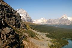 opabin prospect (Veronika Lake) Tags: camping autumn lake mountains nationalpark hiking britishcolumbia alpine rockymountains glacial canadianrockies yohonationalpark marylake lakeoharacampingweekend