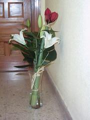 Ramo (marietasanchez151) Tags: flores jarron tulipan ramosdeflores