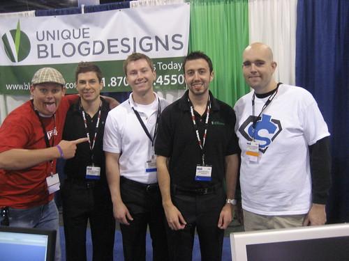 Ted Murphy, Josh Mullineaux, Matt Blancarte, Nate Whitehill, Jeremy Schoemaker