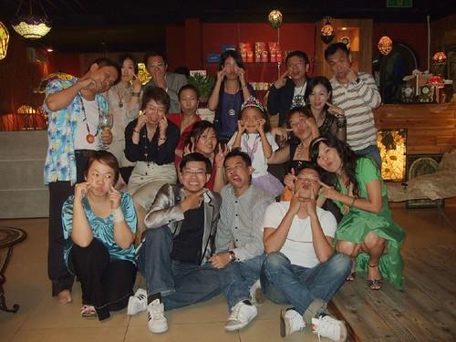 你拍攝的 20080927泛醉俱樂部_莫拉諾燈飾260。