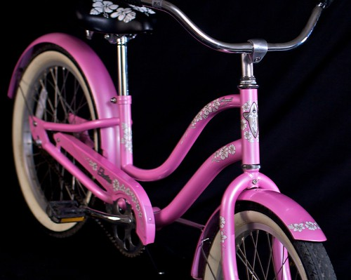 Girls Pink Electra Hawaii Bicycle