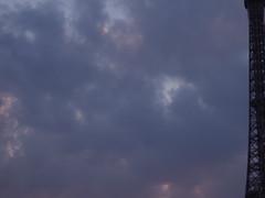 DSCF2313.JPG (arfrank) Tags: sunset panorama paris france clouds eiffeltower champdemars triptofrance