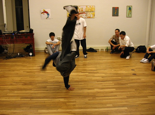 the b-boy performance