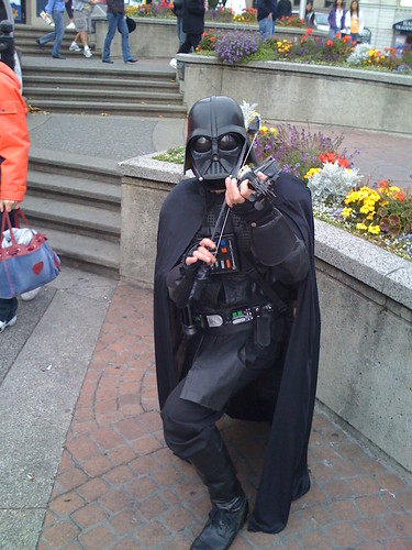 Darth Vader on the violin