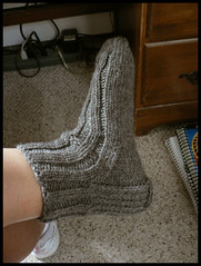 Ribbed Slipper Sock