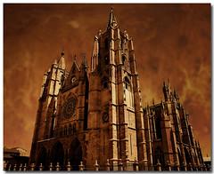 Catedral de Len (juguetta) Tags: arquitectura soe goldenglobe abigfave catedralleon aplusphoto digitalphotoart memoriesbook rubyphotographer qualitypixels
