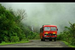 ST (now on explore #75) (Bhushan Patil.) Tags: india nature st explore maharashtra roads ghat kokan explored mahad varandha ruraltransport bhushanpatil warndha waghjaighat ppjan09