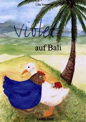 Violet auf Bali