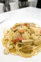 ホタテとポルチーニのスパゲッティ, Andrea Zanin, 新宿伊勢丹 イタリア展