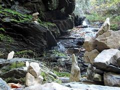 rockpiles (aluminum ghost) Tags: nature virginia hiking autumnleaves waterfalls shenandoah nationalparks naturephotography shenandoahnationalpark rockpiles lukeweichmann