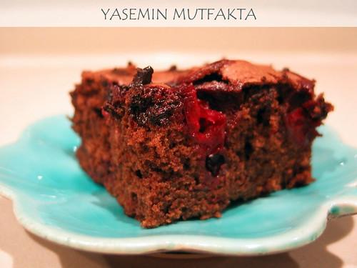 Visneli Kareler by Yasemin Mutfakta
