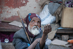 Street Beggar (cormend) Tags: poverty city portrait india asia blind delhi beggar destitute northindia nikond80 cormend