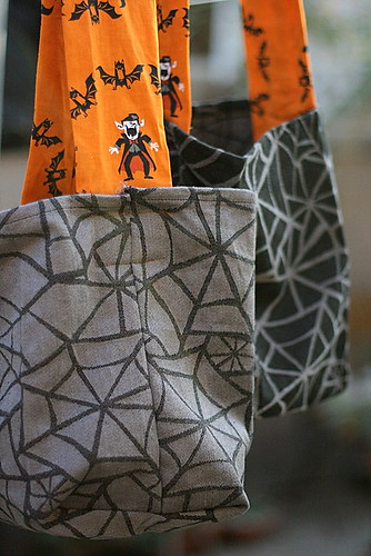 reusable halloween goodie bags