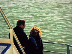 """BOAT TRIP (3 of 4): """"Love is all"""" (Sion Fullana) Tags: sea newyork love ferry boat tour streetphotography characters inlove allrightsreserved onaboat coupleinlove watertour panasonicdmcfz50 sionfullana loveonthesea newyorkfolliageautumn sionfullanaphotography fotografasdesionfullana sionfullana"""