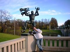 Olga at Oslo Vigeland Park #3
