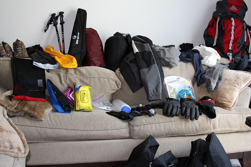 Guadalupe Peak - Pre-Trip Sorting and Packing (John)