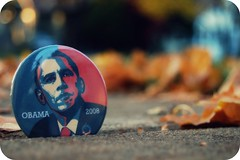obama*keh (n.elle) Tags: leaves nicole pin bokeh michigan sidewalk 2008 obama ferndale nelle barackobama explored hbw obama2008 nikond40 nelleimages gobama sofreakinexcited obamakeh presidentelectobama