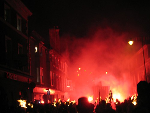 Lewes Bonfire Night 2008