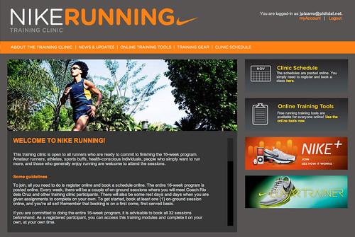 NikeRunningClinic