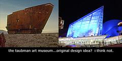 taubman art museum (jreidfive) Tags: art museum virginia starwars downtown roanoke jawa sandcrawler taubman
