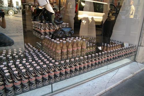 很多有造型的可樂