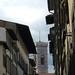 Blick auf den Turm des Santa Maria del Fiore Doms, Florenz, IT