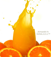 Orange [ Splash ] ~ (AMAL MOHAMMED..) Tags: orange splash 2008 ~ aplusphoto  he