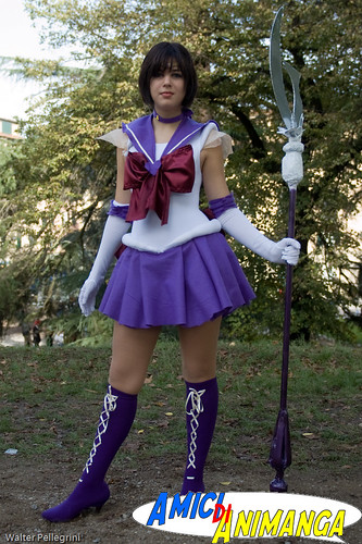 Pretty Guardian Sailor Moon Sailorpluto Cosplay