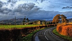 country road (Scottish Nomad) Tags: scotland imagepoetry lochend imagepoesie