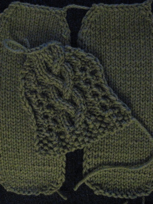 Aran Isle Slipper parts