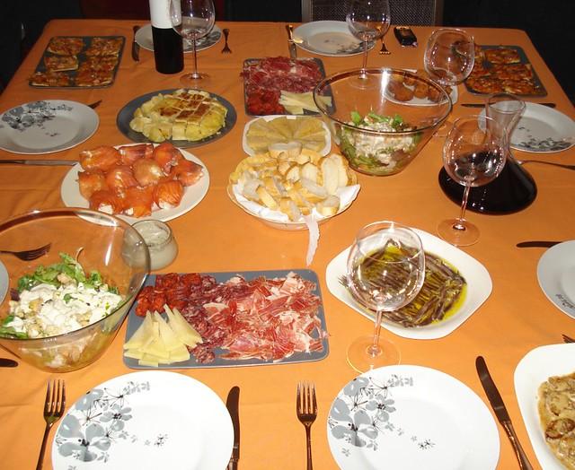 Blogs de cocina selecci n de 10 cenas f ciles y r pidas - Menu cena amigos en casa ...