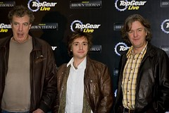 Jeremy Clarkson, Richard Hammond and James May at the Top Gear L (Tony Kinlan) Tags: dublin brown canon thomas tony conference 5d jeremyclarkson jezza kinlan richardhammondandjamesmayatthetopgearlivepressconfren