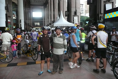 World AIDS Day Ride in KL 2008