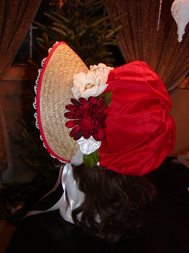 Red bonnet, etsy commission