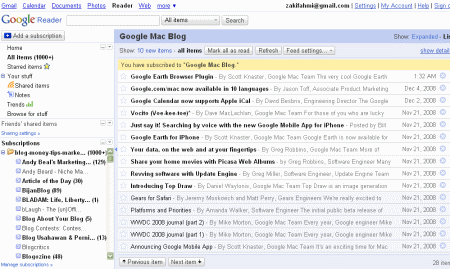 3083755740 cf5ca2fe54 o Not just Google Reader makeover, it come with more features too