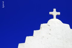 Aegean quintessential (Aster-oid) Tags: crosses chapels greece mykonos ff37