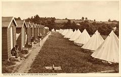 South Devon Holiday Camp (pre Pontins) (trainsandstuff) Tags: uk england vintage postcard retro devon archival paignton pontins holidaycamp southdevon holidaycamps southdevonholidaycamp campinguk