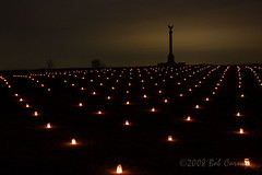 Antietam Battlefield Luminaries (gotbob) Tags: newyork monument night canon war candles civil antietam battlefield luminaries slidr noeffingspotlight