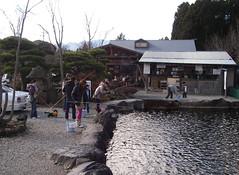 釣り堀にて
