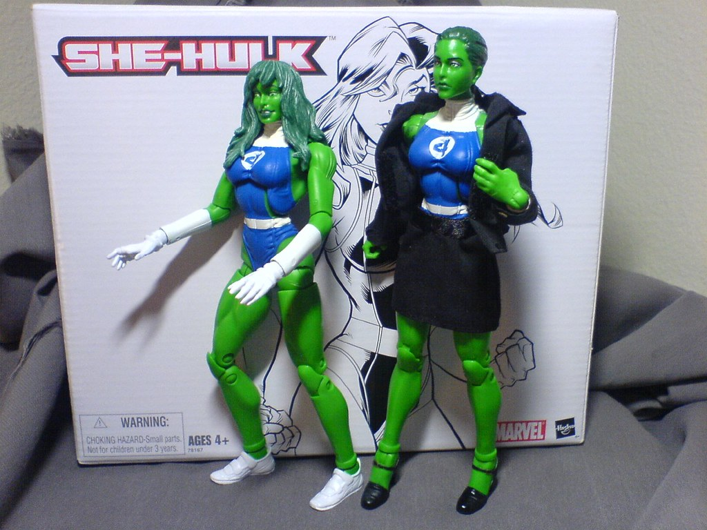 She-Hulk Changing