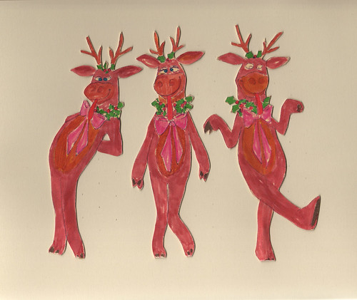 Silly Reindeer - Paper Models