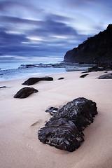 Cool contrasts (Tim Donnelly (TimboDon)) Tags: longexposure sea sunrise australia nsw cokin ocea bungan flickrsbest